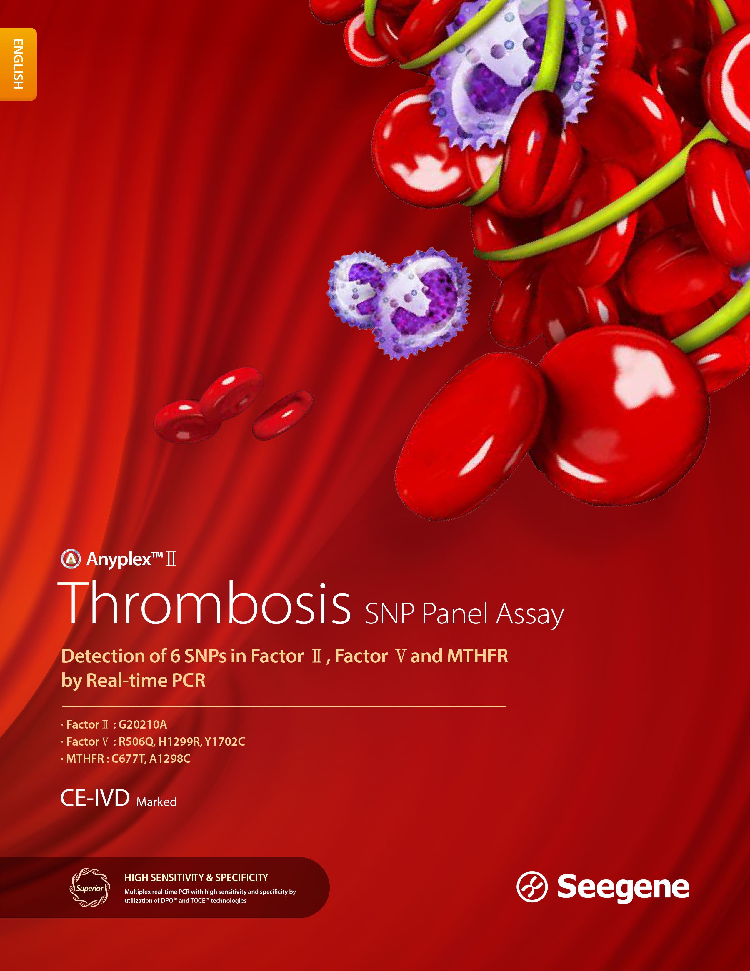 Anyplex™ II Thrombosis SNP Panel Assay